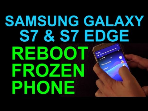 How To Reset Frozen Samsung Galaxy S7