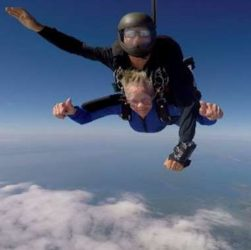 88-Year-Old Grandma Goes Skydiving And She Loved It