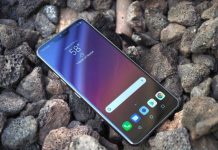 How To Configure Broadcast Settings Mobile Hotspot LG G7 ThinQ
