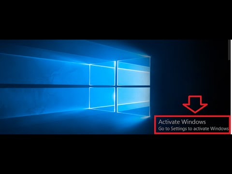 what is needed to activate windows 10