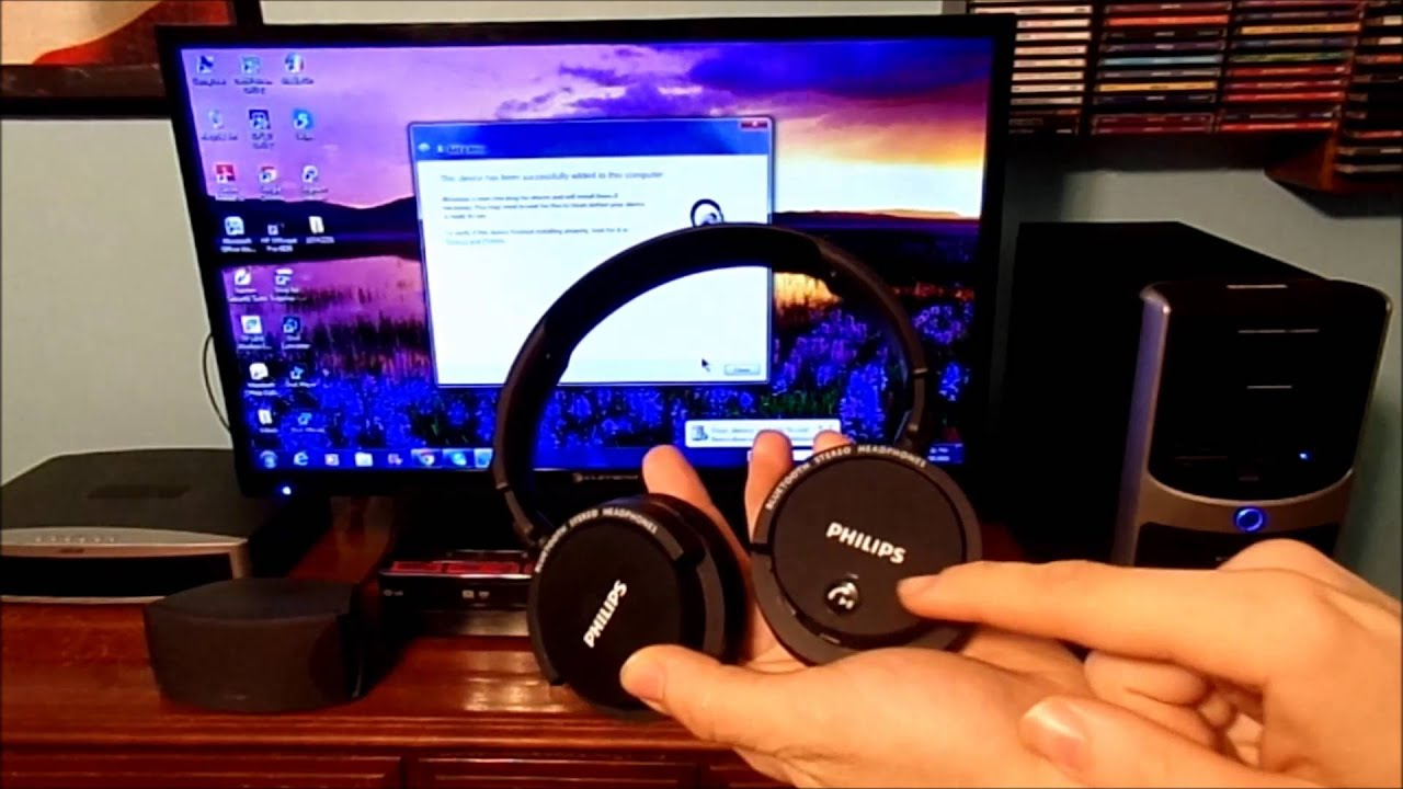 how to connect bluetooth headphones or wireless speakers to your computer gettechmedia. Black Bedroom Furniture Sets. Home Design Ideas