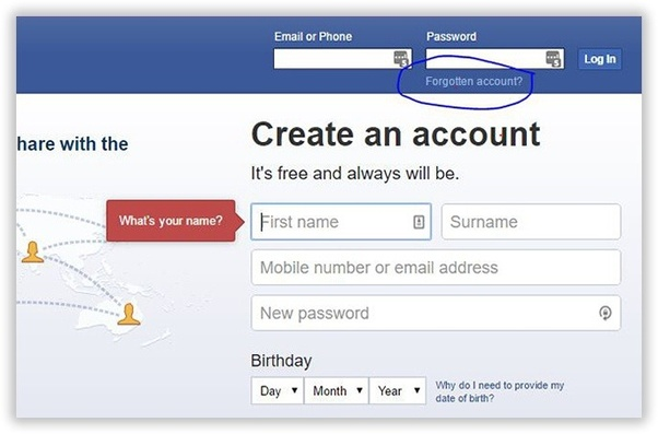 Can you log into facebook with phone number