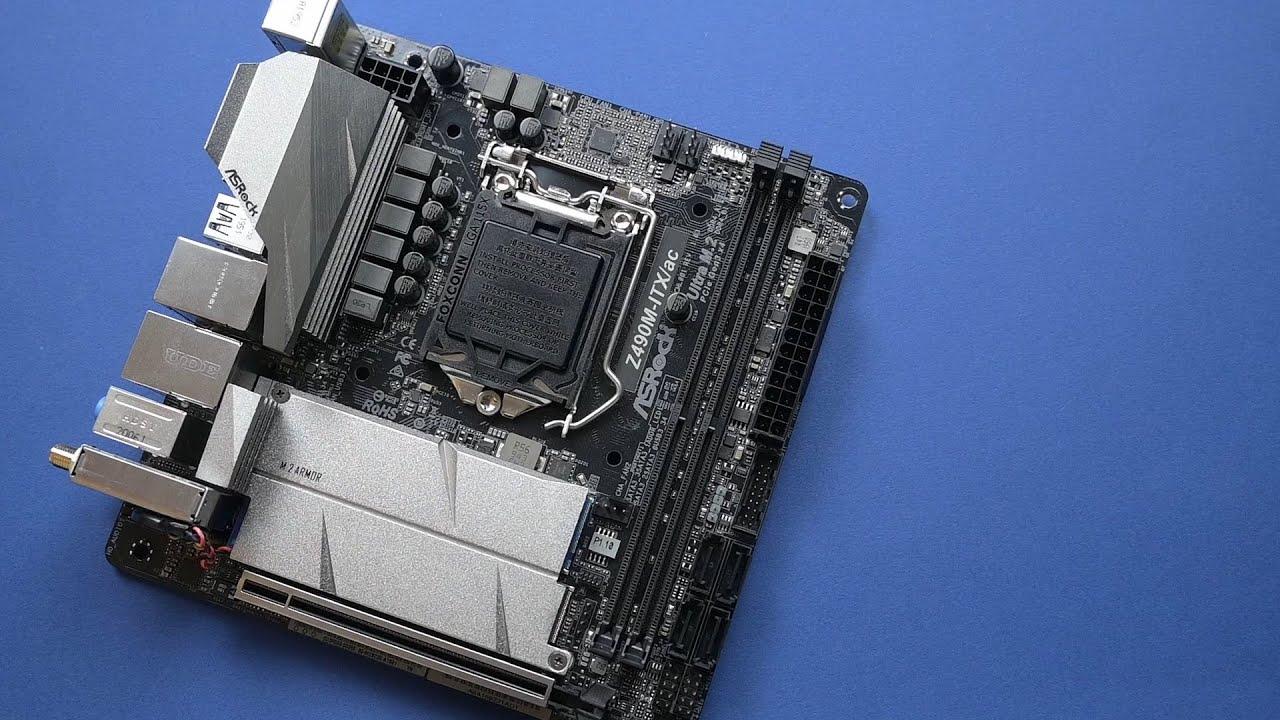 ASRock Z490M – ITX-AC