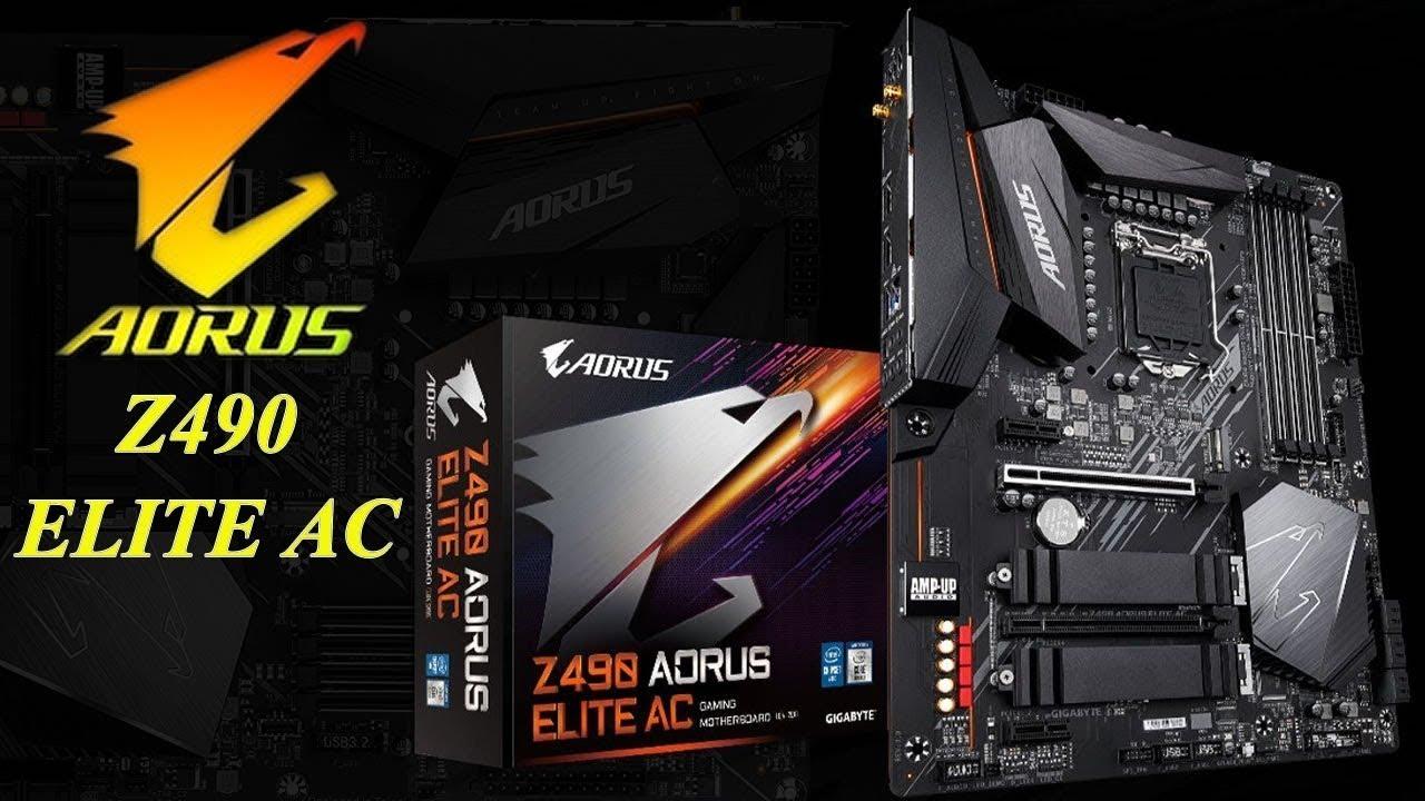 Gigabyte Z490 AORUS Elite AC