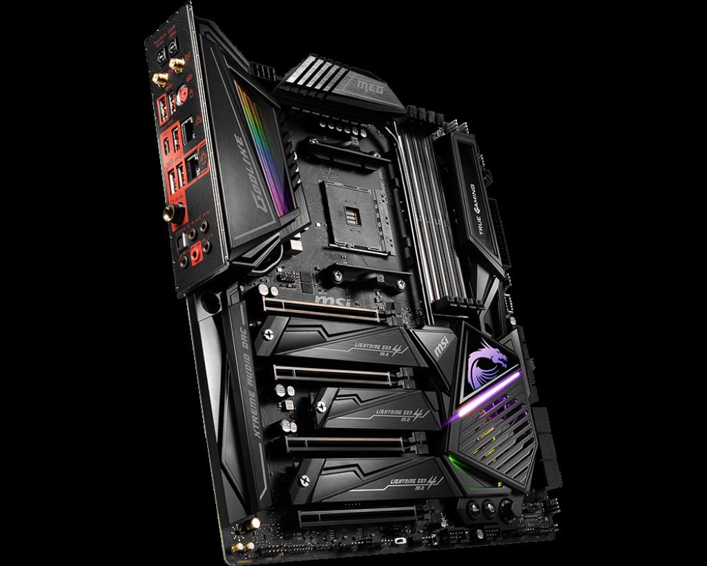 MSI MEG X570 GODLIKE Best Motherboards for Radeon RX 6800 XT