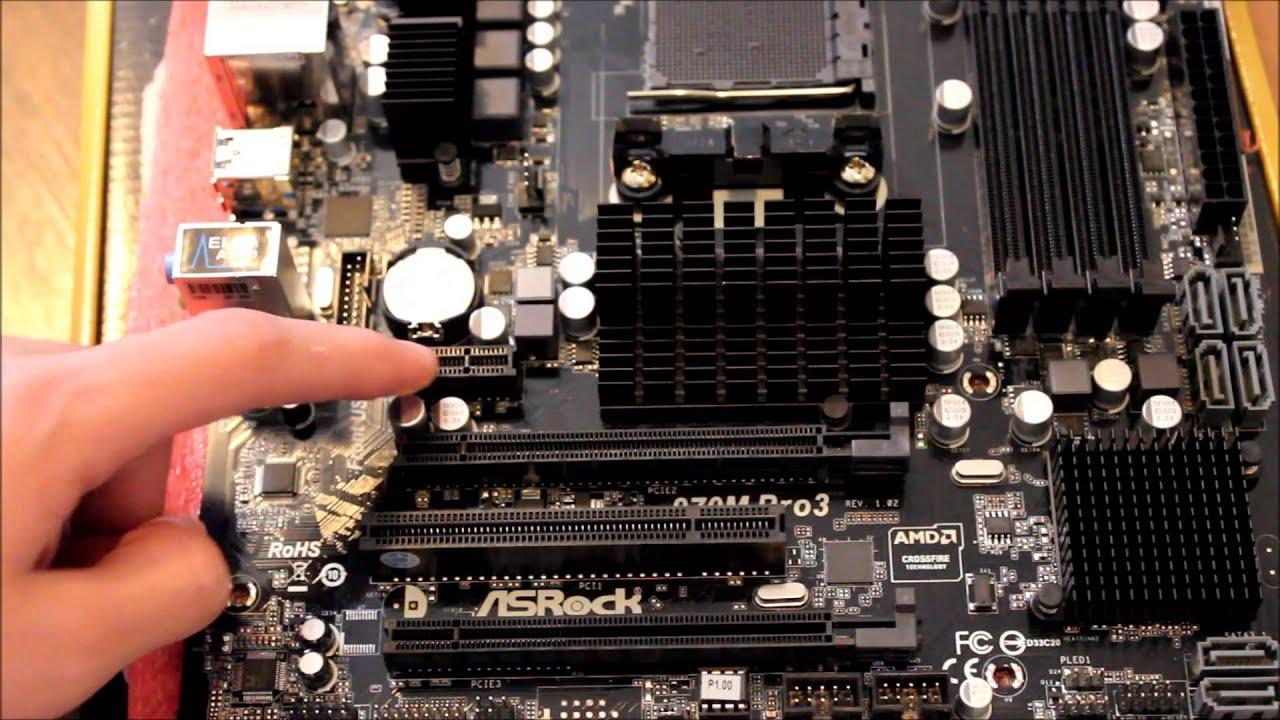 ASRock 970M PRO3 Best Motherboards for AMD FX 8350