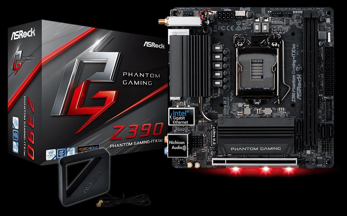 ASRock Z390 Phantom Gaming-ITX-ac