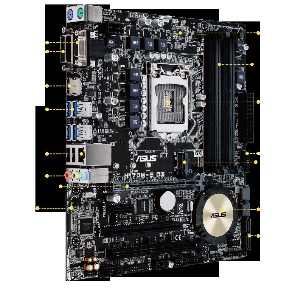 ASUS Socket 1151 DDR4