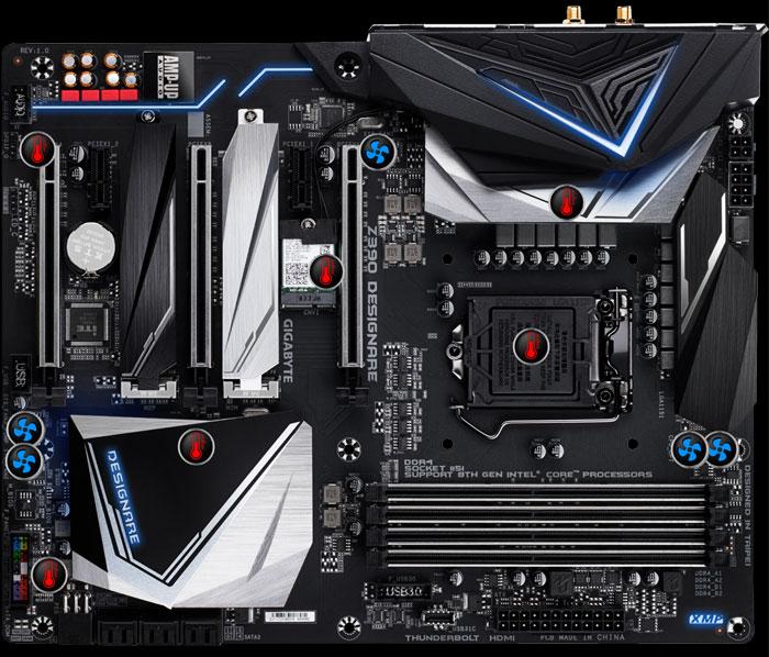 Gigabyte Z390 DesignareGaming Motherboard