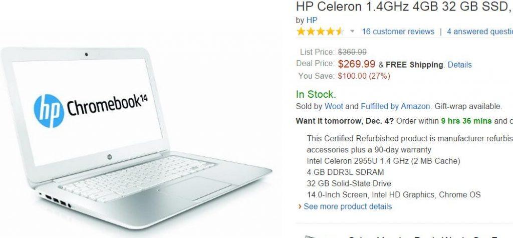 Amazon HP Celeron