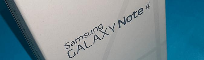 Galaxy Note 4 Box
