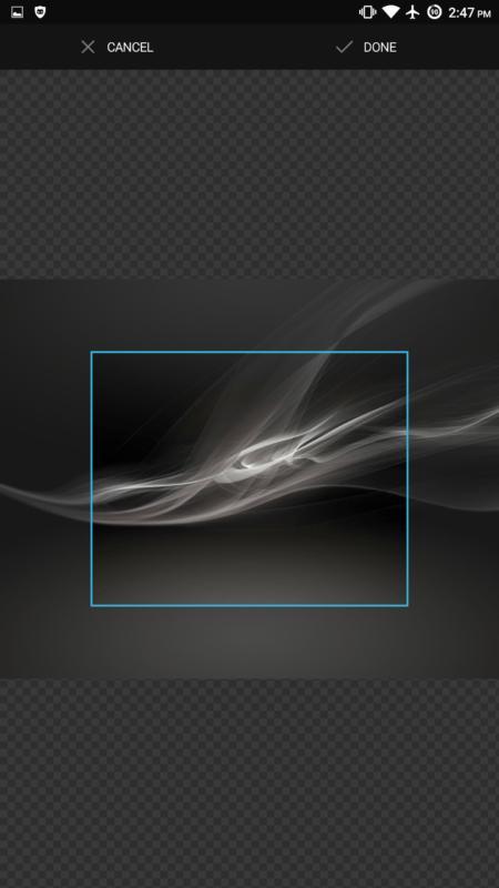 Type-1 App Wallpapers Crop