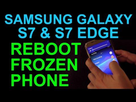 How To Reset Frozen Samsung Galaxy S7