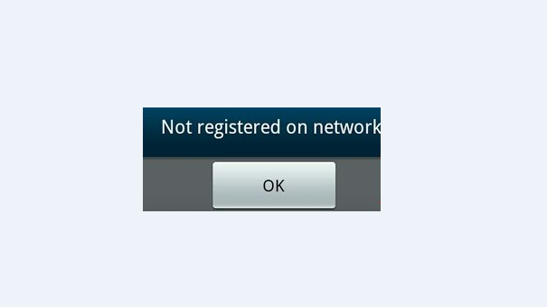 Samsung Galaxy S6 Not Registered On Network