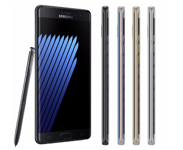 The Samsung Galaxy Note 7 Is Now Available