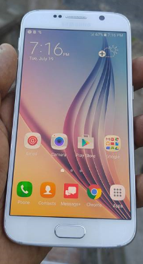How To Create New Folder Samsung Galaxy S6 Apps Screen