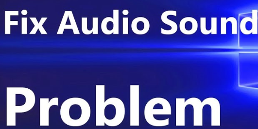 Fix Sound Issues