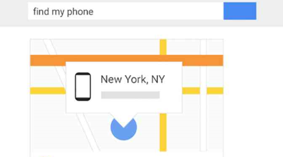 Reset Password with Google Find My Mobile