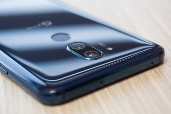 Corporate Email (Exchange ActiveSync®) Notification Settings LG G7 ThinQ