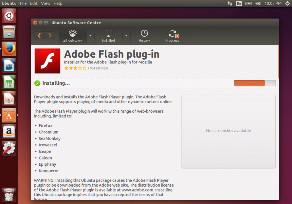 Adobe android flash