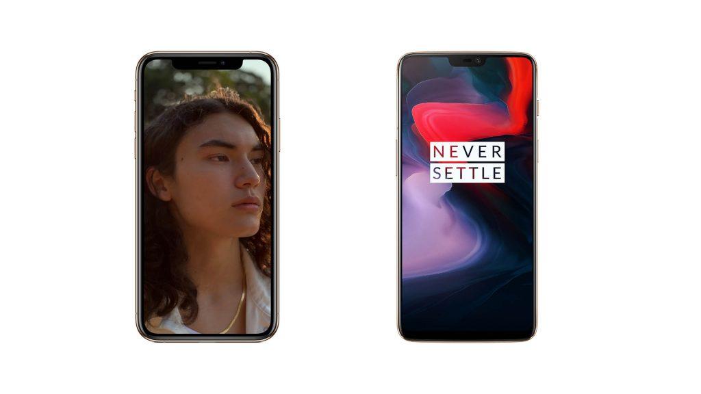 Apple iPhone Xs Vs OnePlus 6T