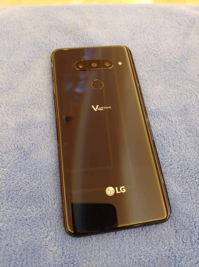 How To Add Signature To Text Message LG V40 ThinQ