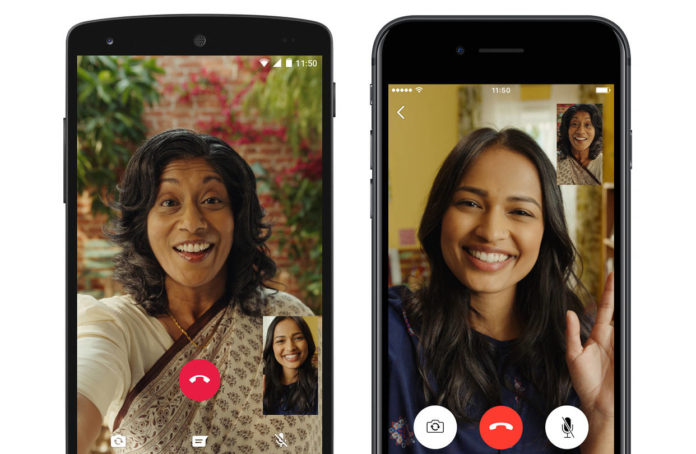 how to make a normal video call on Android