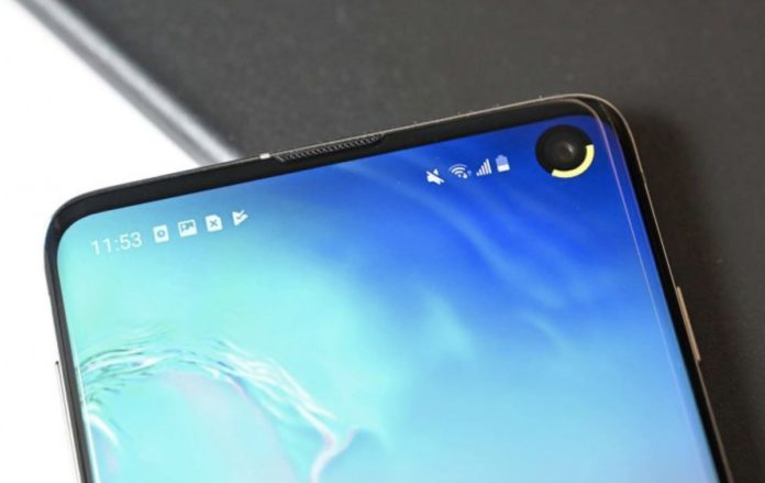 create a notification light for Galaxy S10 Camera Cut-Out