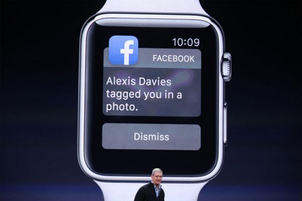 FaceBook on Apple Watch 3