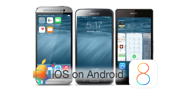 install iOS launcher on Android tablet