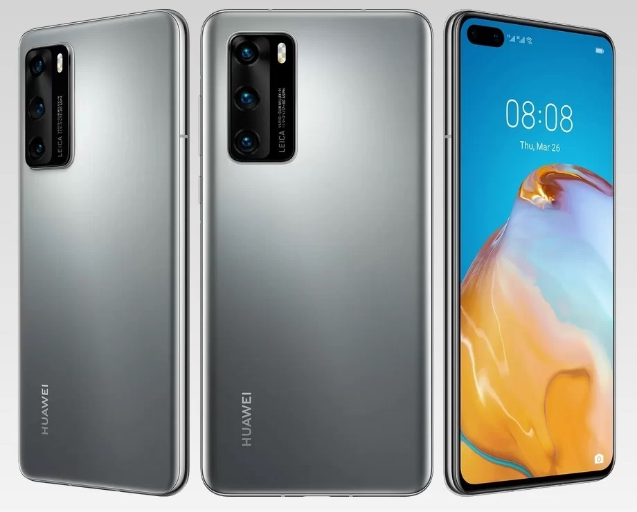 Huawei P40 with Kirin 990 5G SoC unveiled