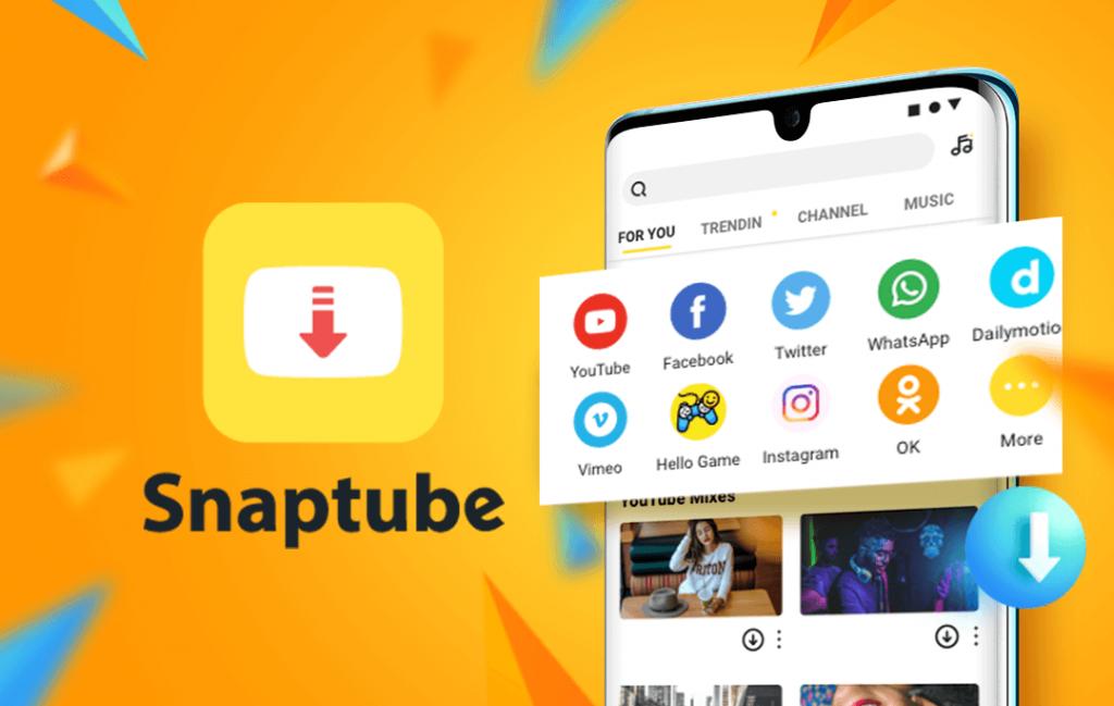 Stream videos or music on SnapTube app