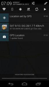 GPS not working on Samsung galaxy