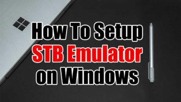 IPTV on STB Emulator for Windows