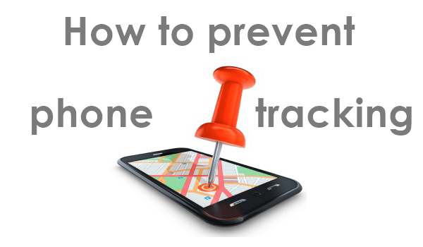 How to block the phones from being tracked