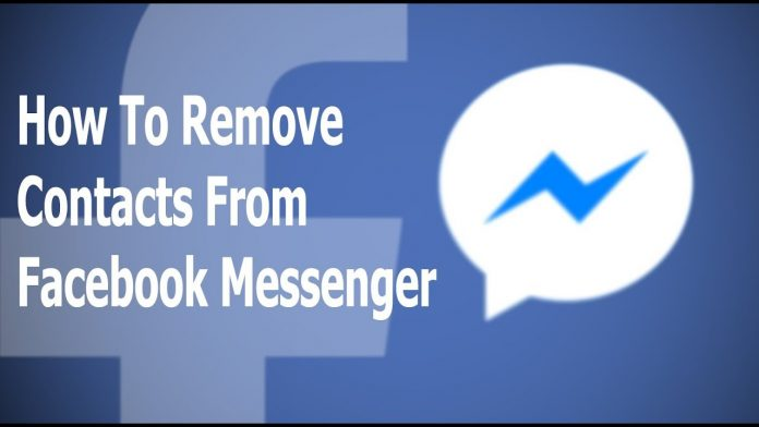 delete someone from the messenger