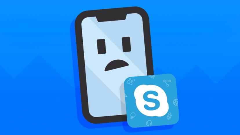 Skype not working