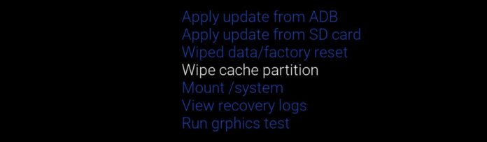 Galaxy S10 Wipe Cache Partition