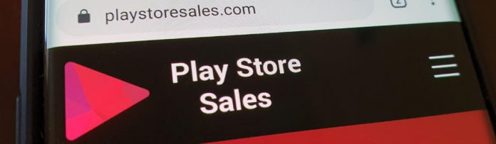 photo of the playstoresales.com website