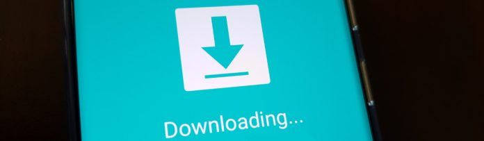 photo of the samsung galaxy s20 in download mode
