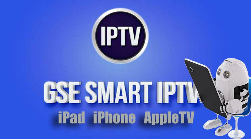 setup IPTV on Apple devices with GSE Player app
