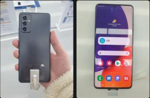 Samsung Galaxy A82 Fresh Leaks Show Rear Camera Design