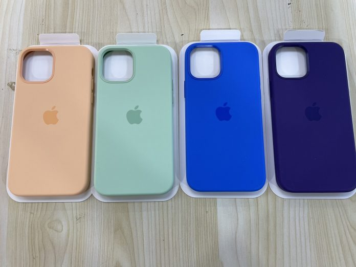 Spring Collection of iPhone 12 Silicone Cases Leaked in 4 Colors