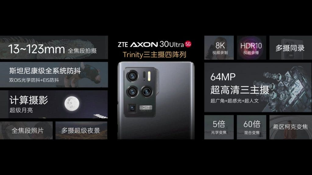 ZTE Axon 30