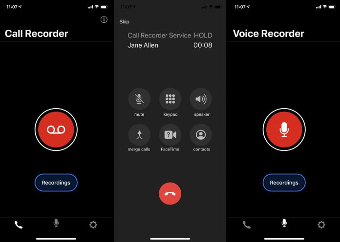 Record Phone Calls On Your iPhone