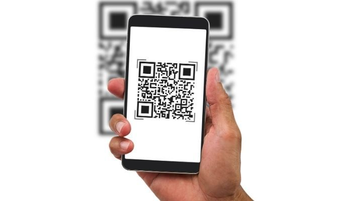 Scan a QR code on android