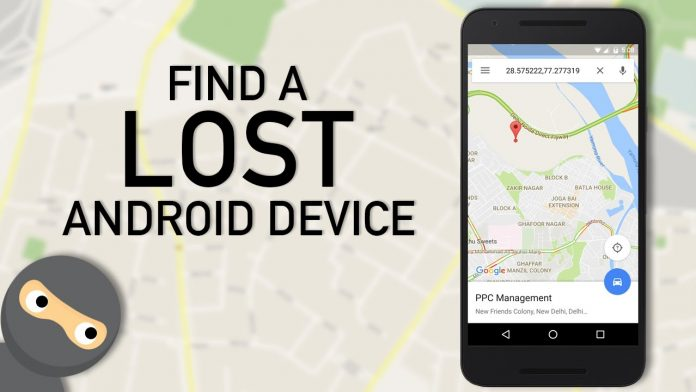 Find My Device feature