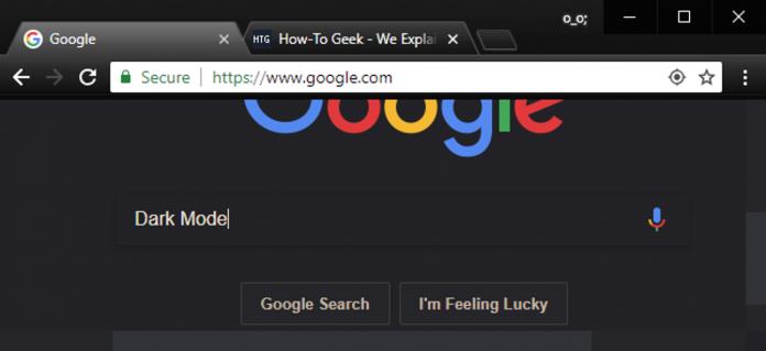 How To Turn On Chrome Dark Mode