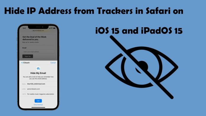 Hide IP Address in Safari