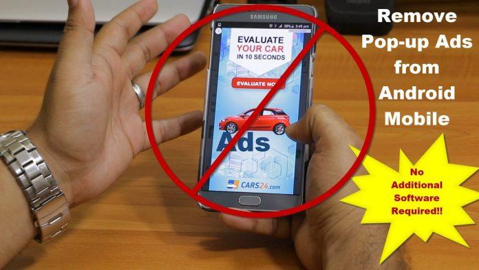 Turn off Ads on Samsung Phone